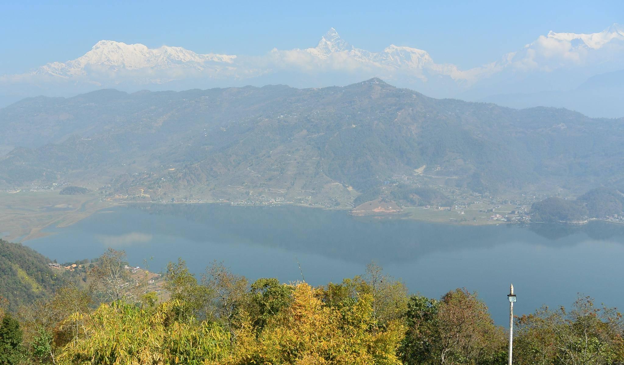 Fewa See in Pokhara