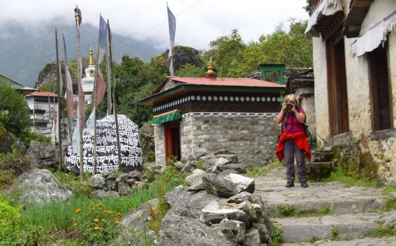 trekking nepal phakding everest gebiet nepal