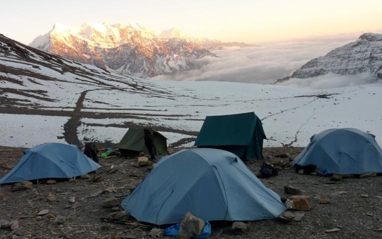 dhampus peak nepal