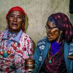 Buddhistische Frauen in Nar Phu