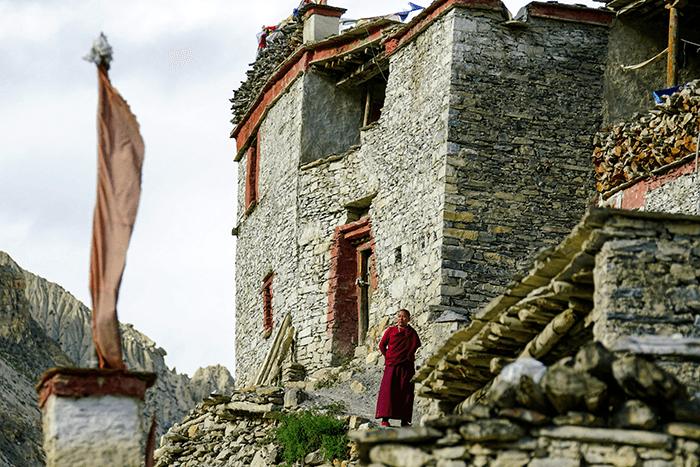 Kloster nepal nar phu tal